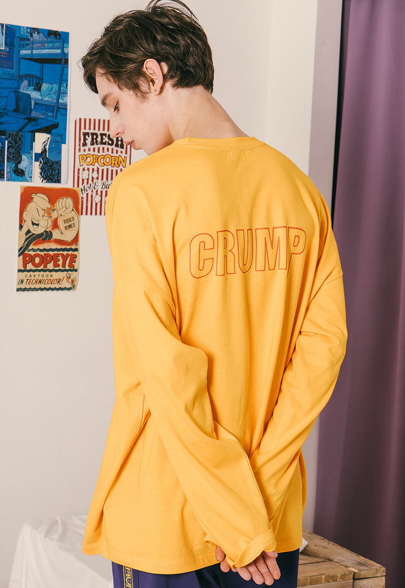 [크럼프] Crump plus long sleeve tee (CT0167-1)