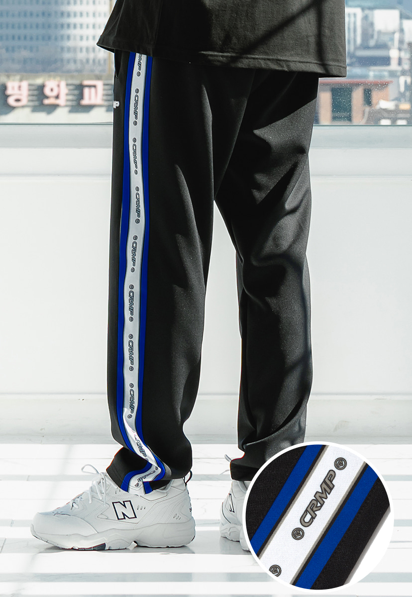 [크럼프] Crump logo track pants (CP0080-1)