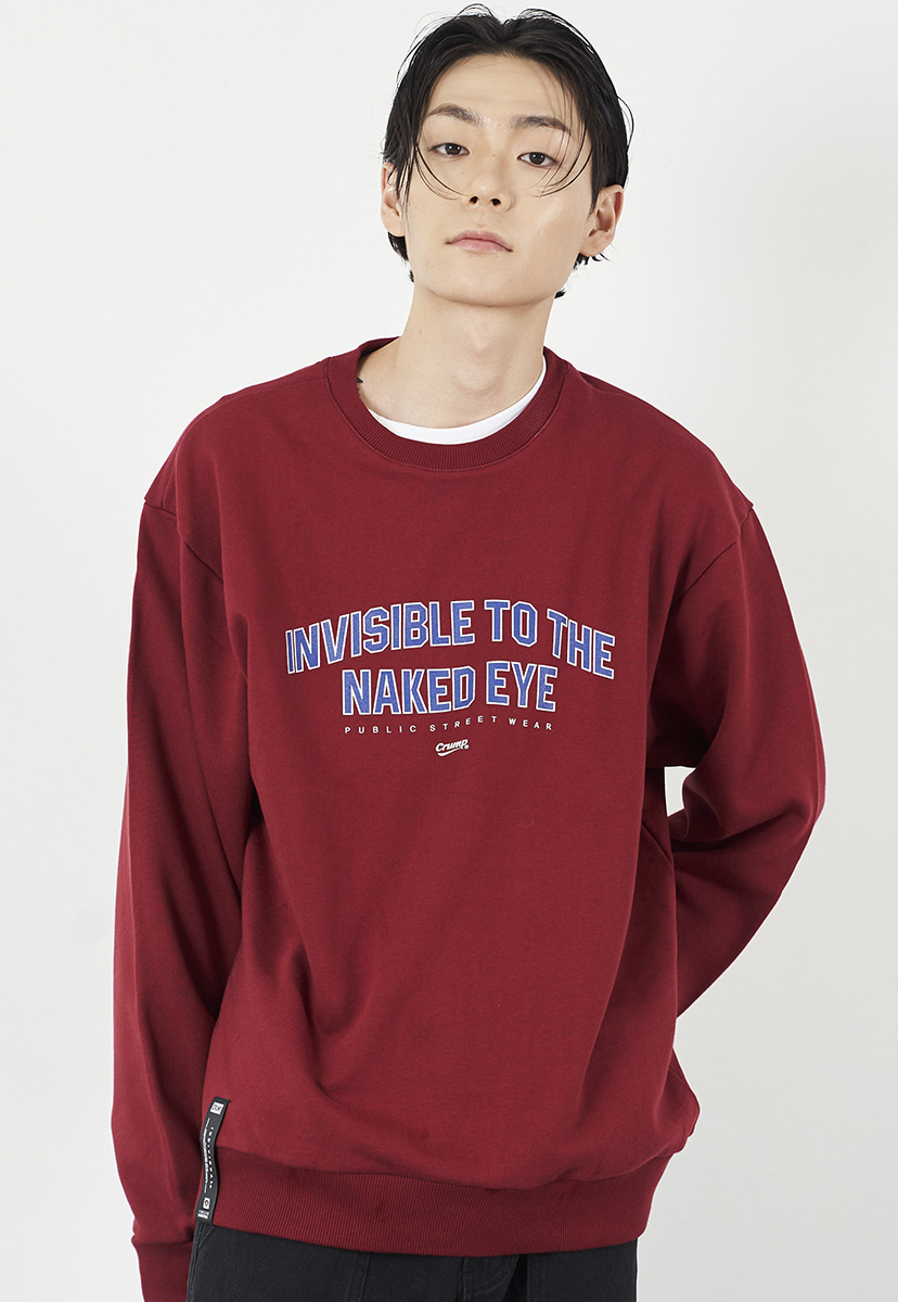 [크럼프] Crump invisible crewneck (CT0224-2)