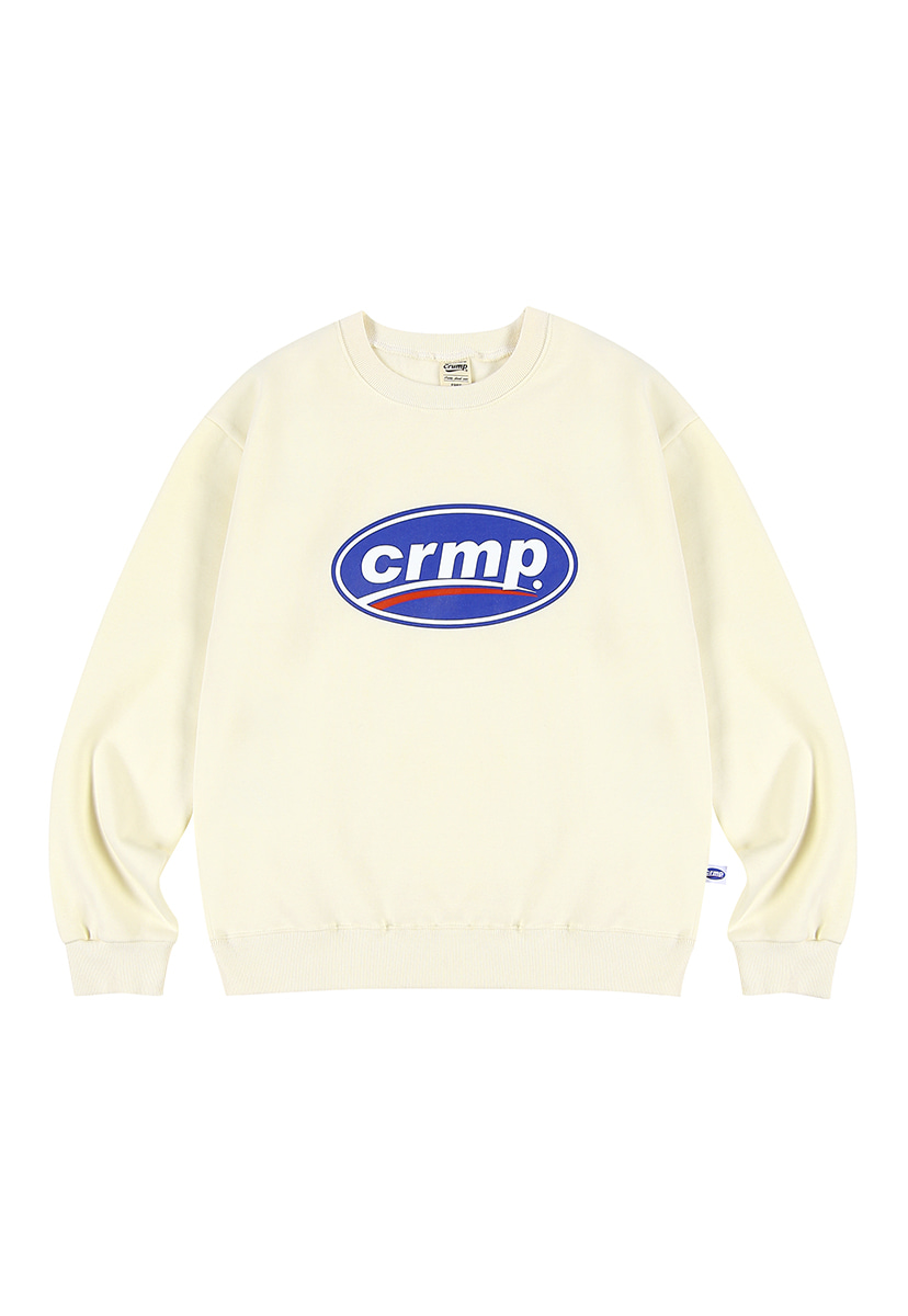 [크럼프][기모] Crump big logo crewneck (CT0238g-2)