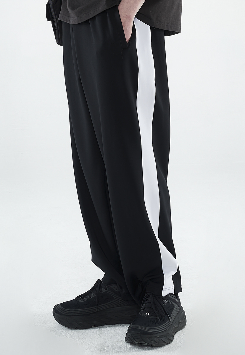 [크럼프] Crump line wide track pants (CP0145)