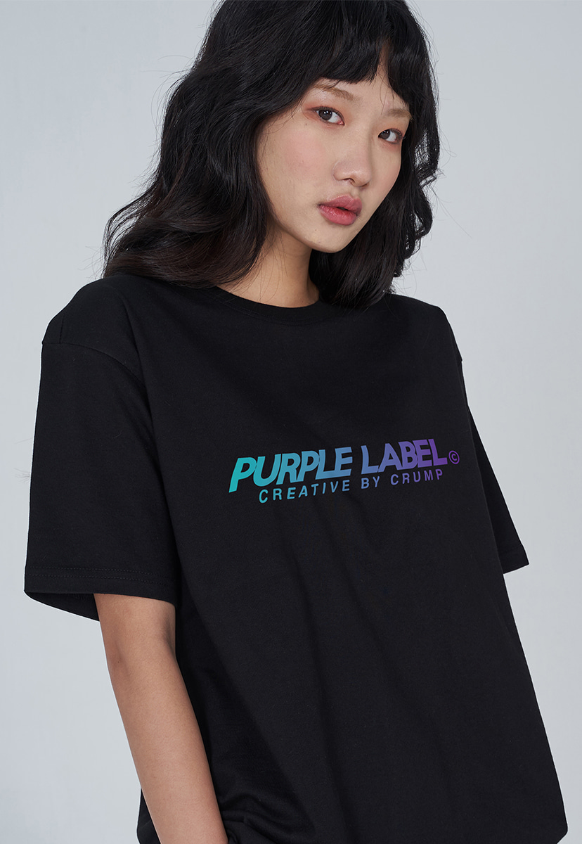 [퍼플라벨] PURPLE LABEL GRADATION LOGO TEE (PT0028)