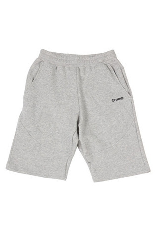 Crump pattern cotton short pants (CP0002) gray