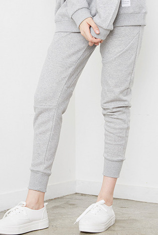 Crump cotton jogger pants (CP0003) gray