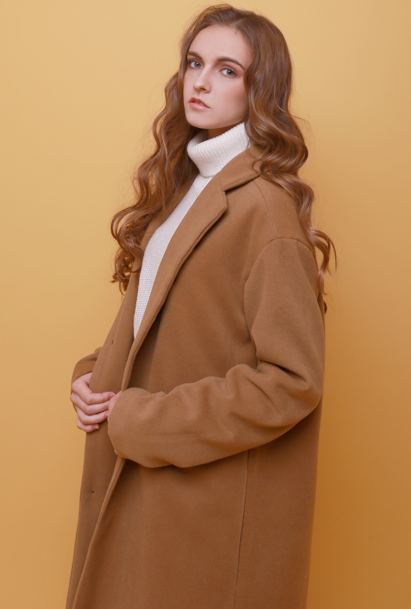 Crump heavy weight over fit coat (CO0001_1) beige