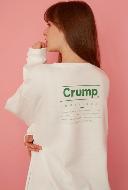 Crump parallel sweat shirt (CT0010) 4컬러