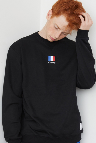 Crump france flag sweat shirt (CT0021) 3컬러