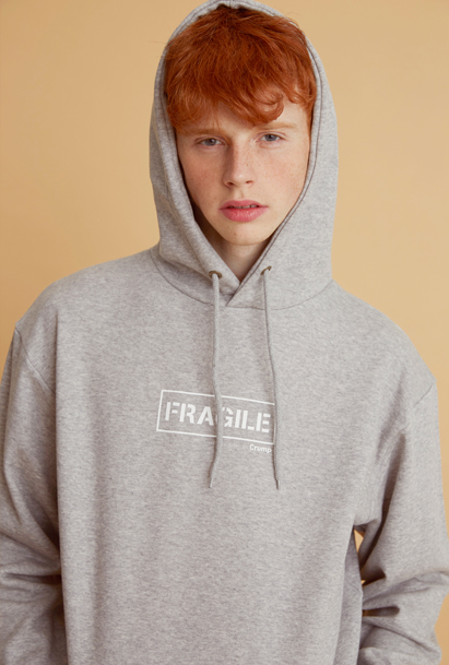 Crump fragile hoodie (CT0040) 4컬러