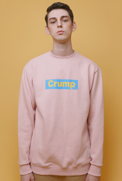 [크럼프] Crump box logo sweat shirt (CT0001_1)