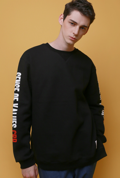Crump value sweat shirt (CT0009_1) 3컬러