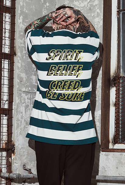 [크럼프] Crump spirit stripe tee(CT0096-1)
