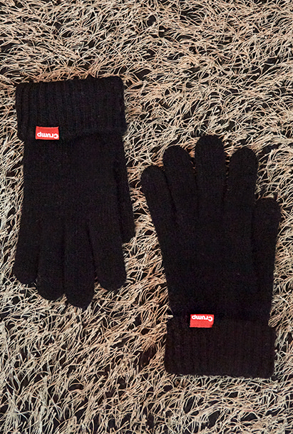 [크럼프] Crump logo touch glove (CA0010)
