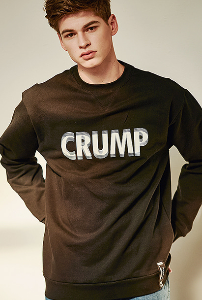 [크럼프] Crump stereo sweat shirt (CT0125)