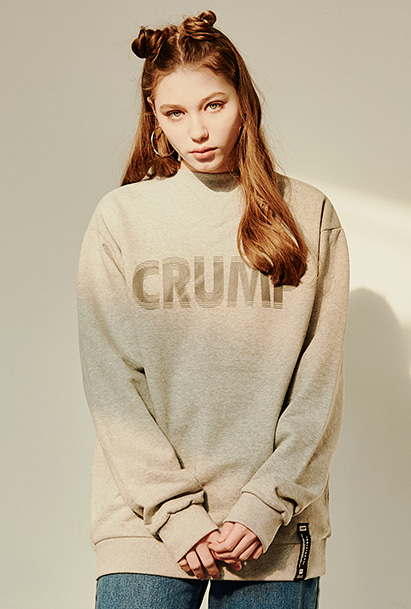 [크럼프] Crump stereo sweat shirt (CT0125-1)