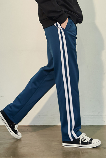 [크럼프] Crump two line track pants(CP0050-1) [10/26 예약배송]