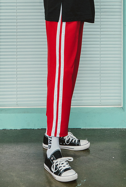 [크럼프] Crump two line crop pants (CP0057-2) [11/2 예약배송]
