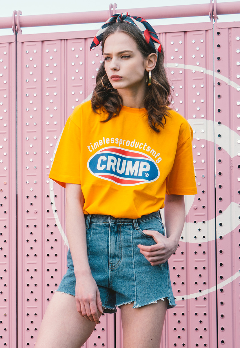 [크럼프] Crump color logo tee (CT0139-1)