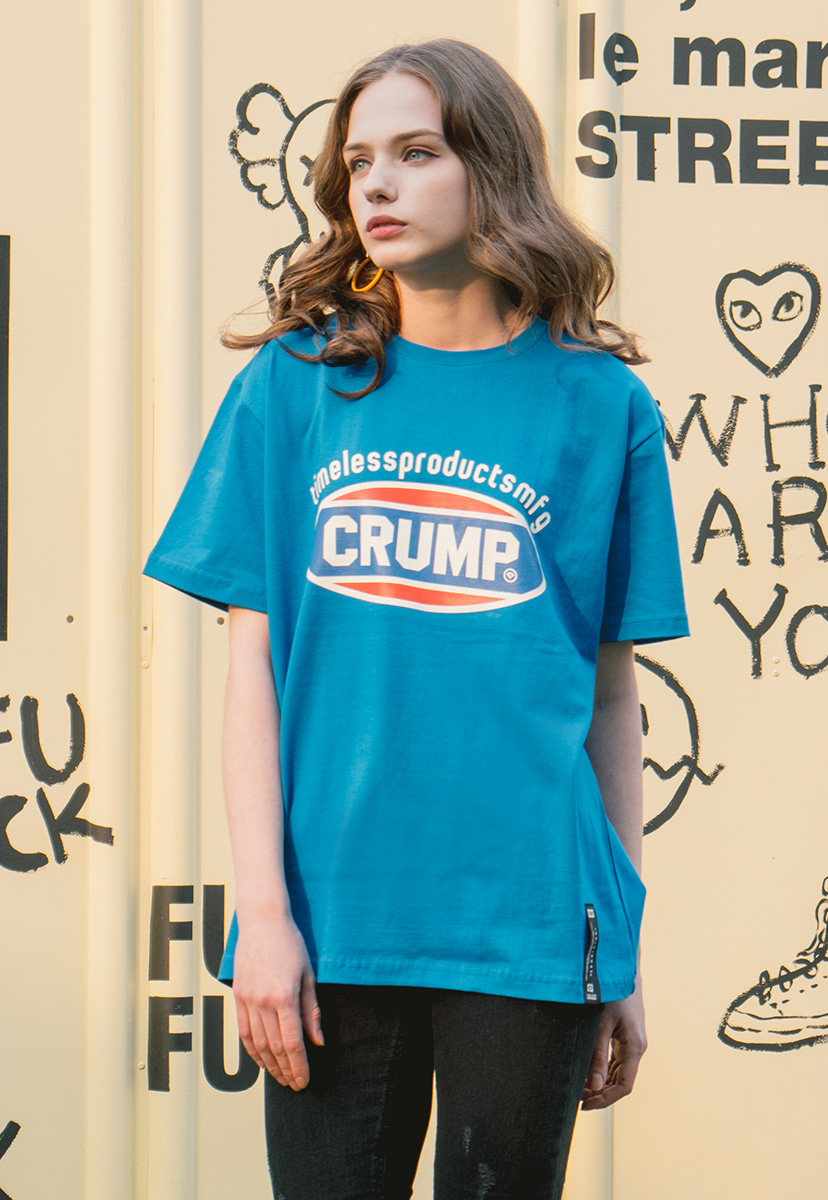 [크럼프] Crump color logo tee (CT0139-3)