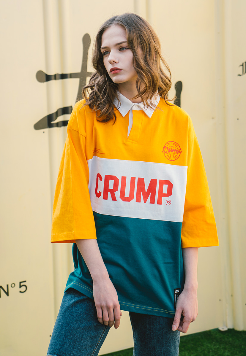 [크럼프] Crump rugby tee (CT0142-2)