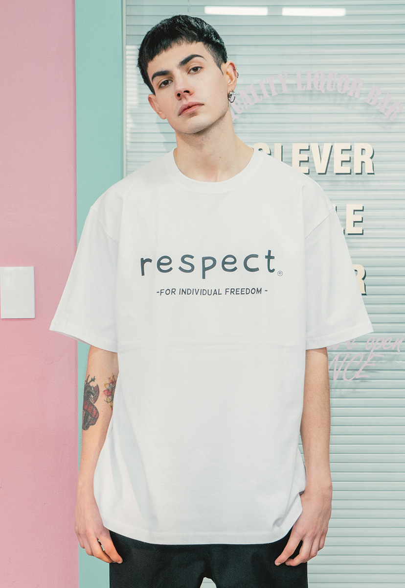 [크럼프] Crump respect tee (CT0143)