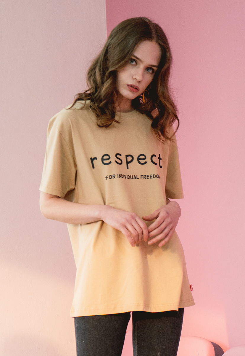 [크럼프] Crump respect tee (CT0143-1)