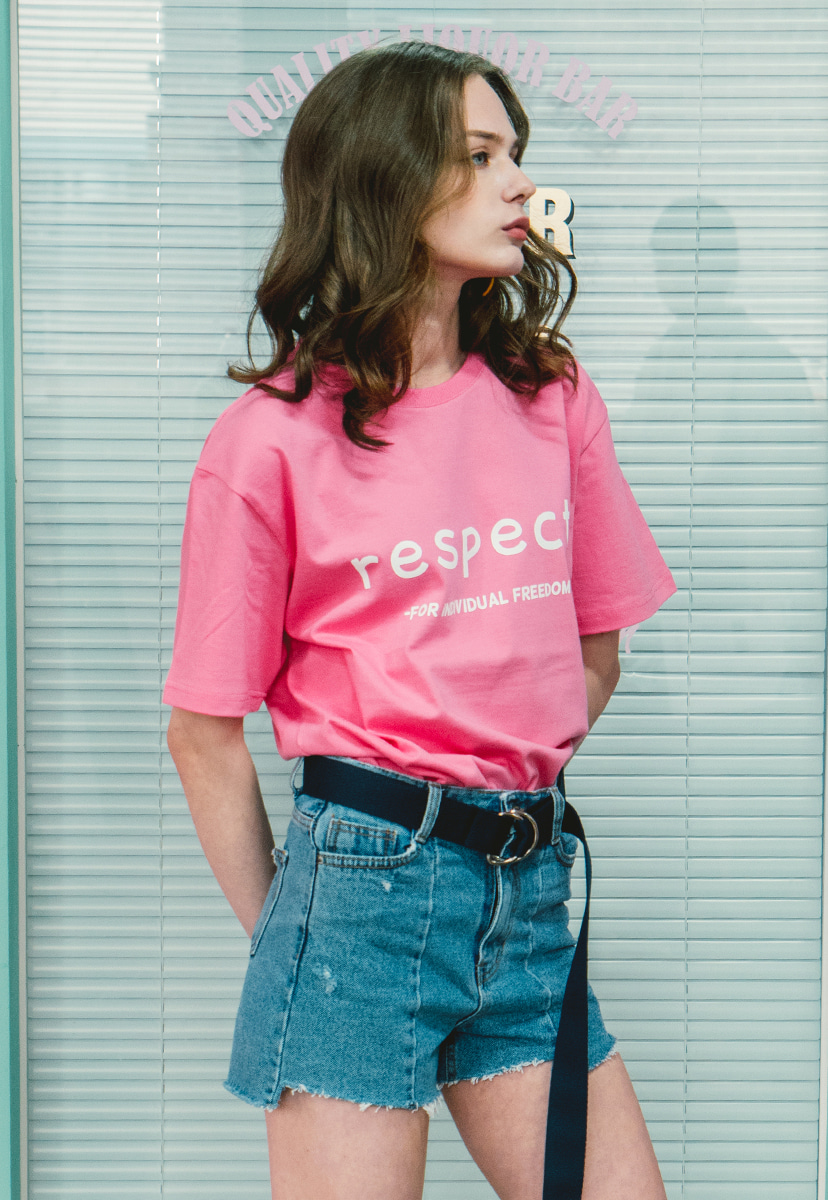 [크럼프] Crump respect tee (CT0143-3)