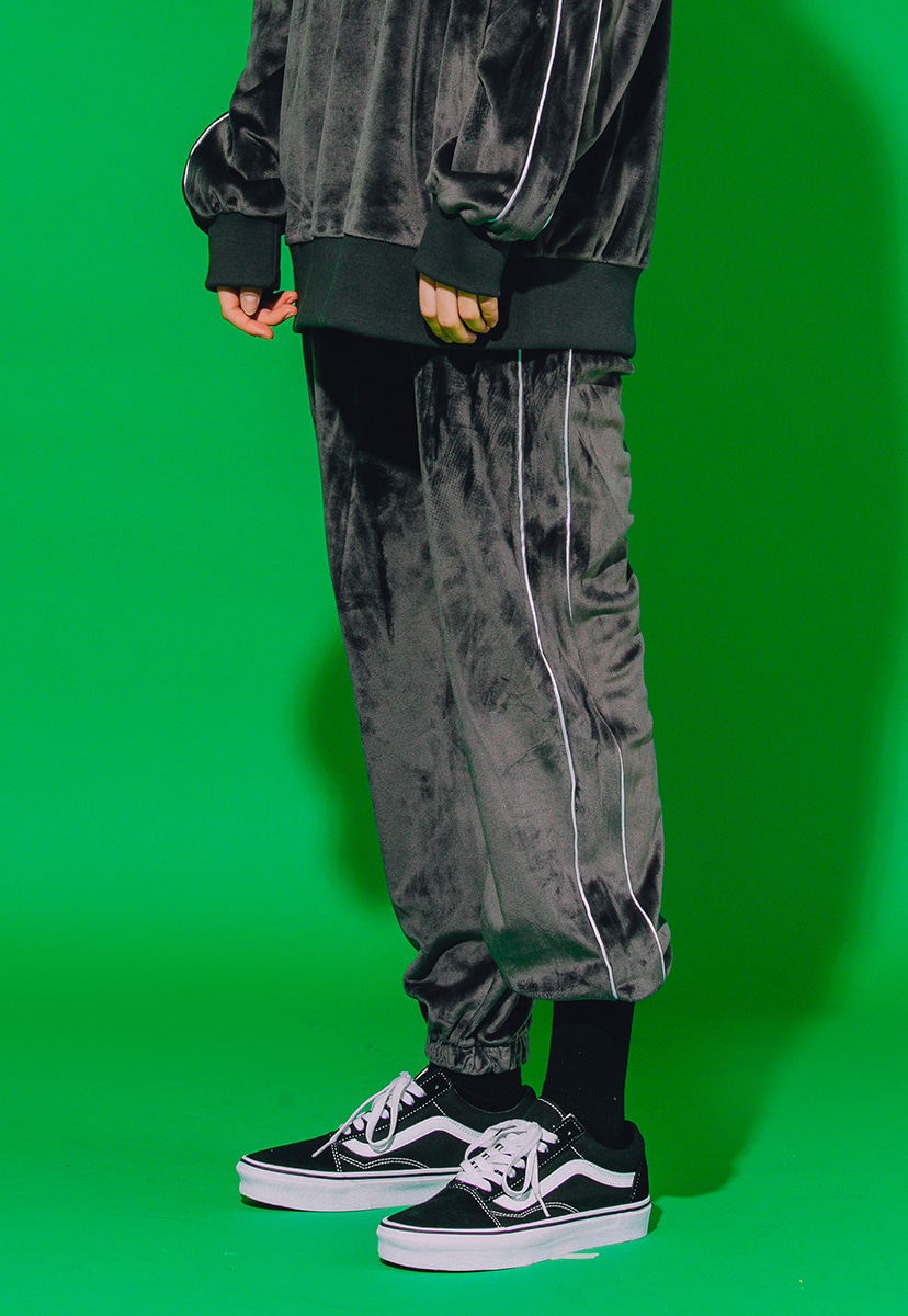 [크럼프] Crump velour sweat pants (CP0072-1)