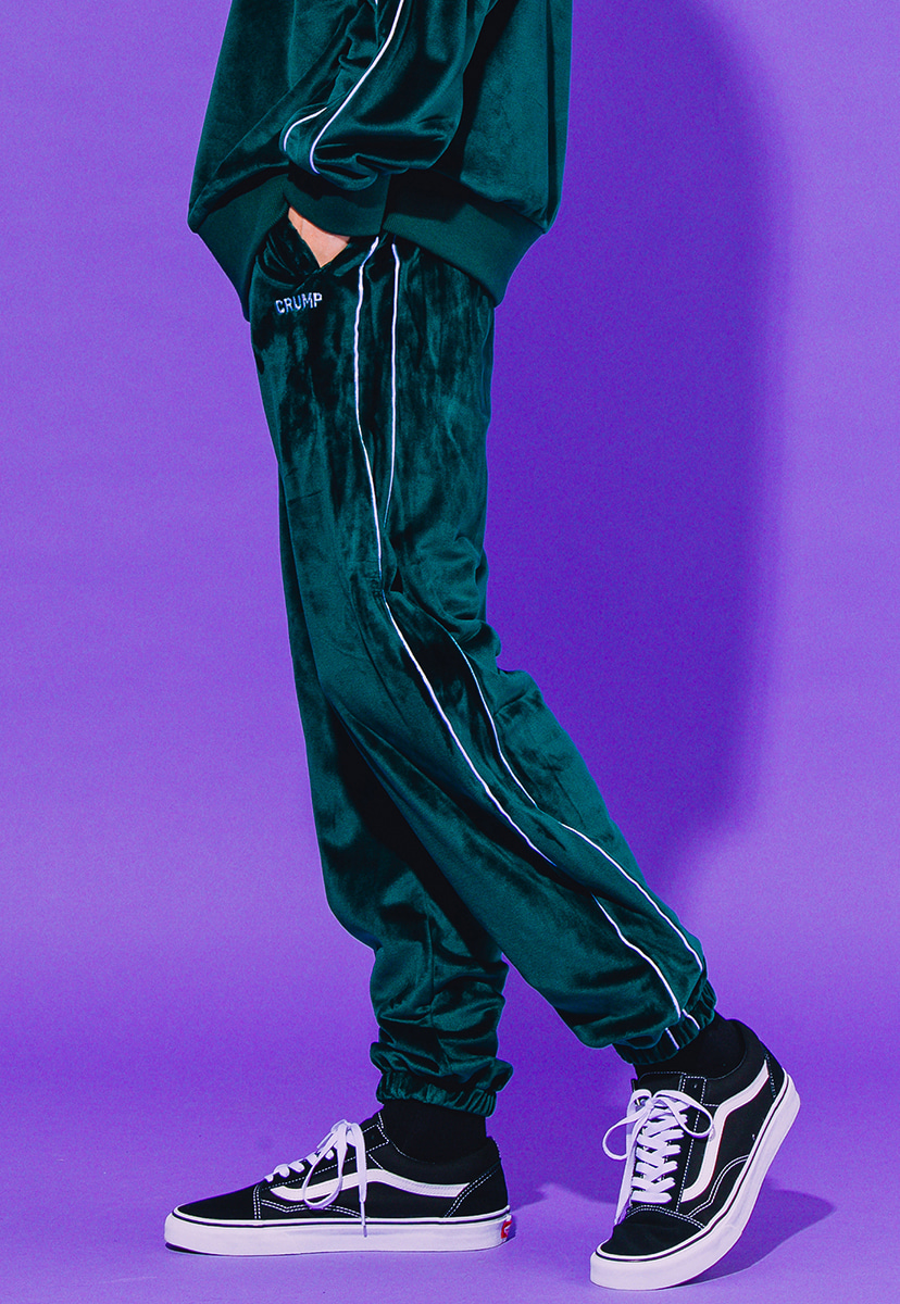 [크럼프] Crump velour sweat pants (CP0072-2)