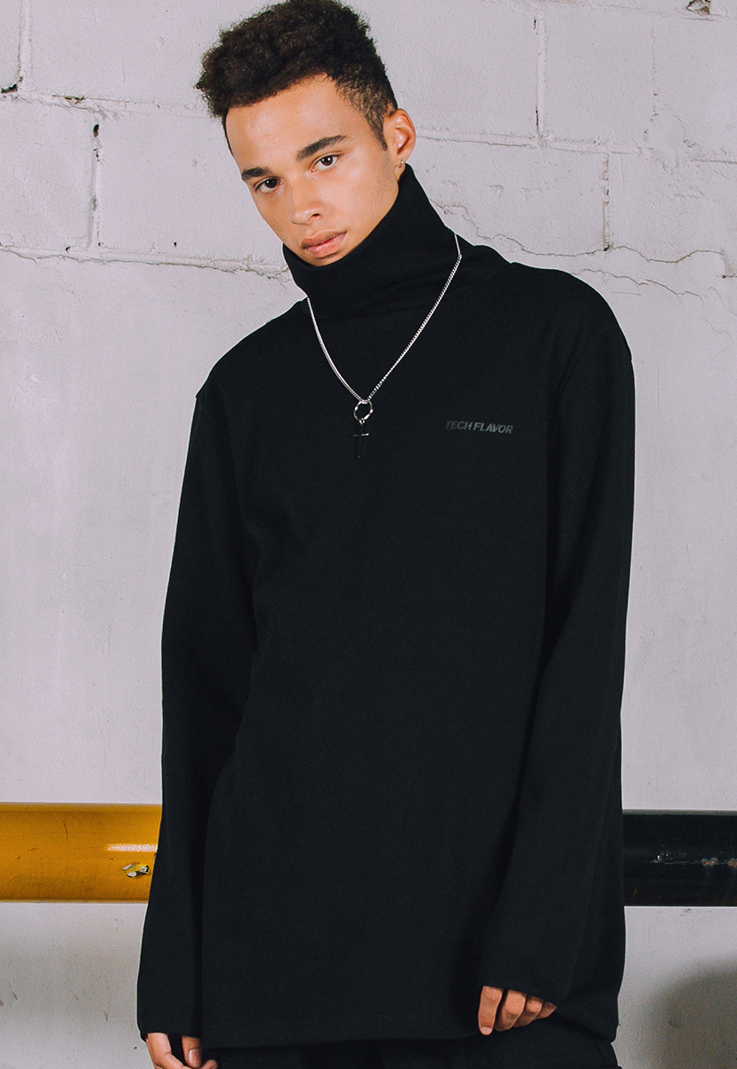 [크럼프] Techflavor high neck pola long sleeve (TT0005)