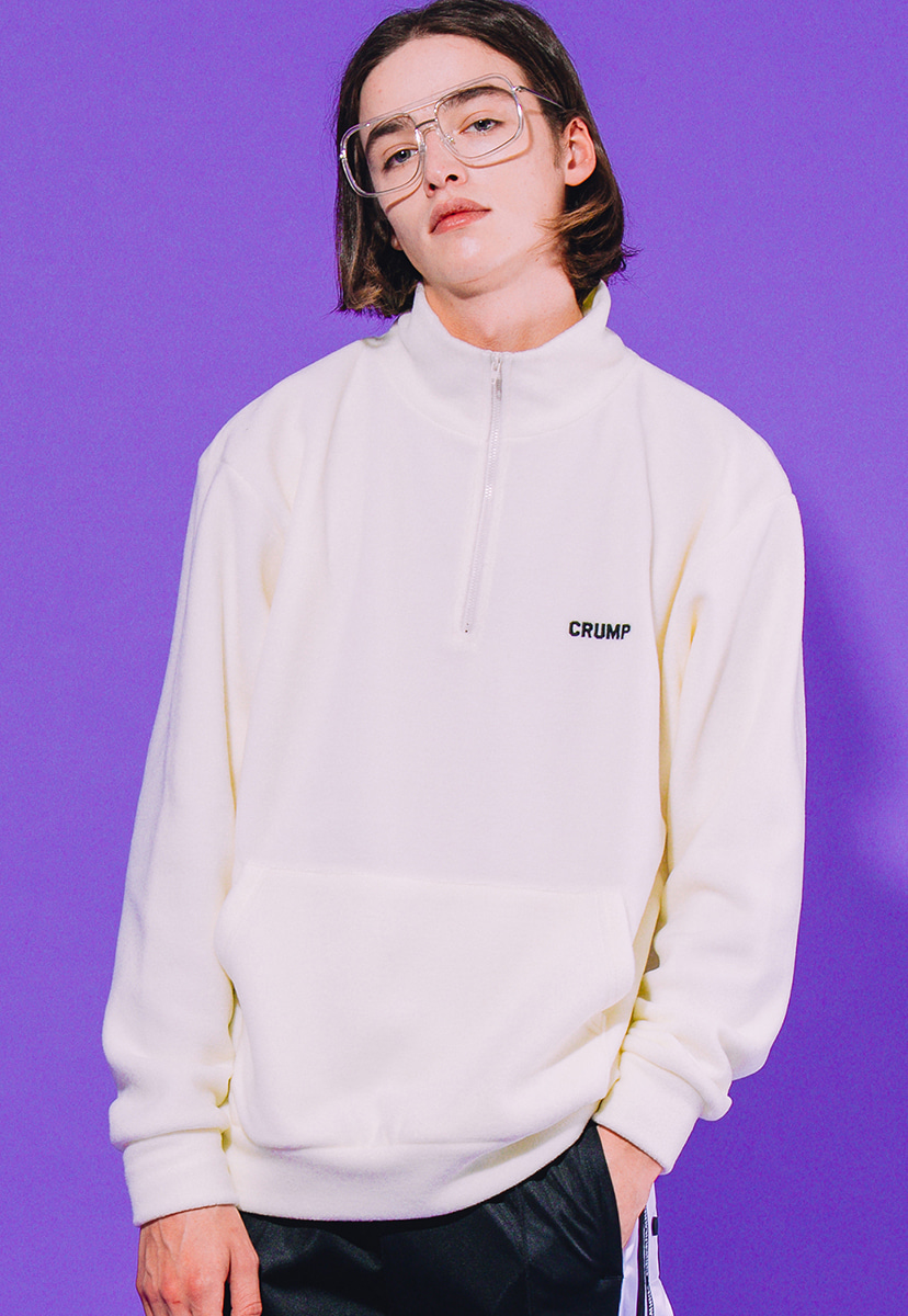 [크럼프] Crump crush fleece half zipup (CT0179-1)