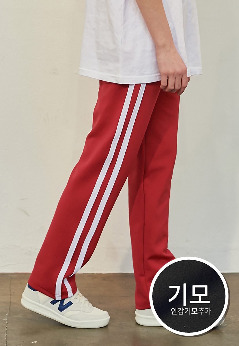 [크럼프][기모] Crump two line track pants(CP0050g-2)