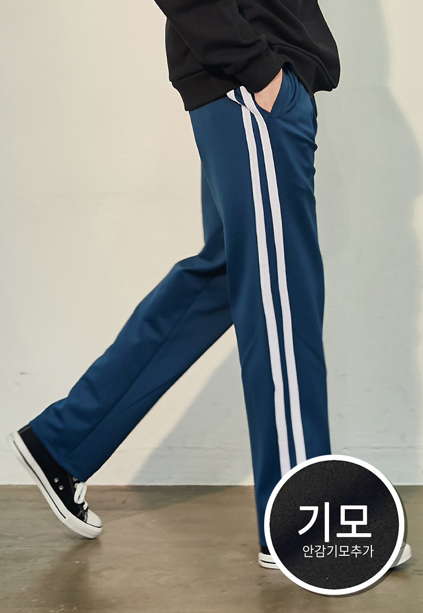 [크럼프][기모] Crump two line track pants(CP0050g-1)