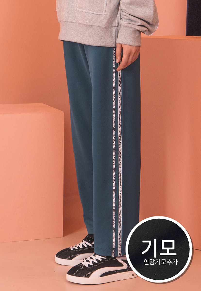 [크럼프]] [기모] Crump tape track pants (CP0065g-1)