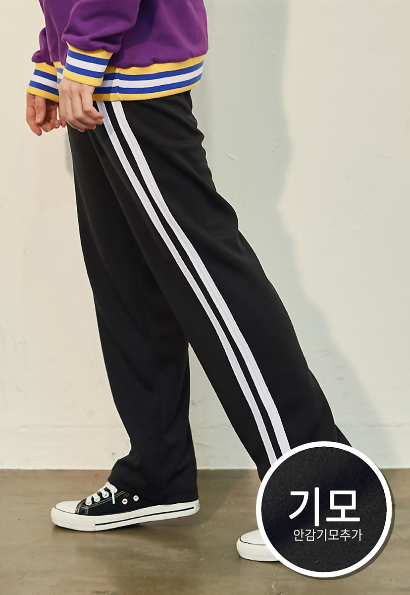 [크럼프][기모] Crump two line track pants(CP0050g)