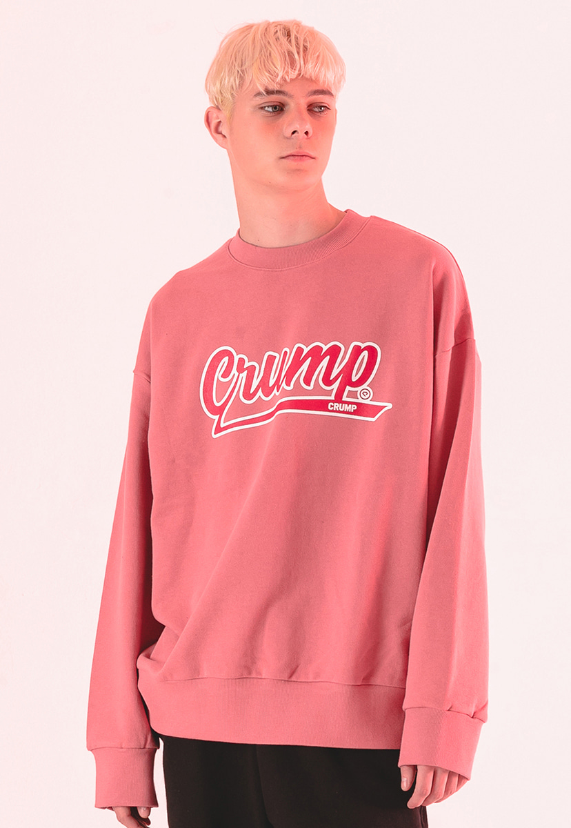 [크럼프] Crump logo crew neck (CT0186-1)