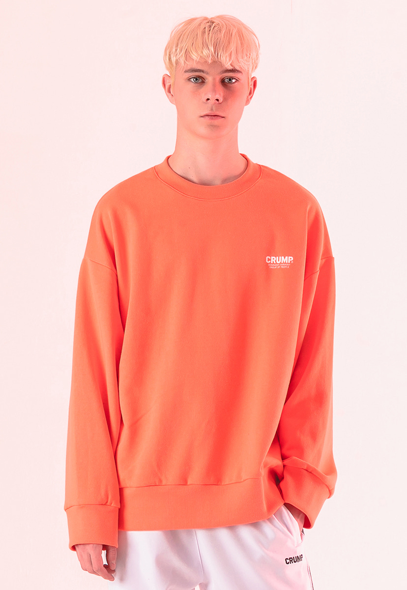 [크럼프] Crump basic crew  neck (CT0188-1)