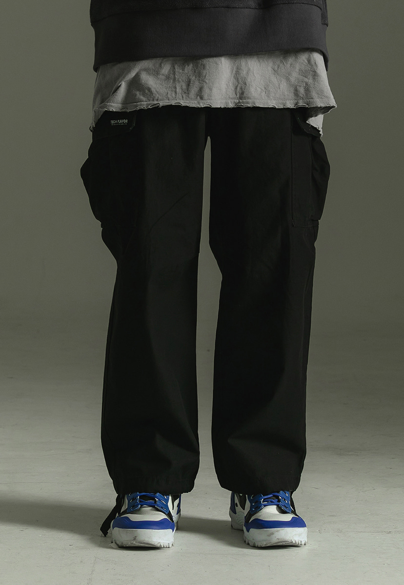 [크럼프] Techflavor big cargo jogger pants(TP0011)