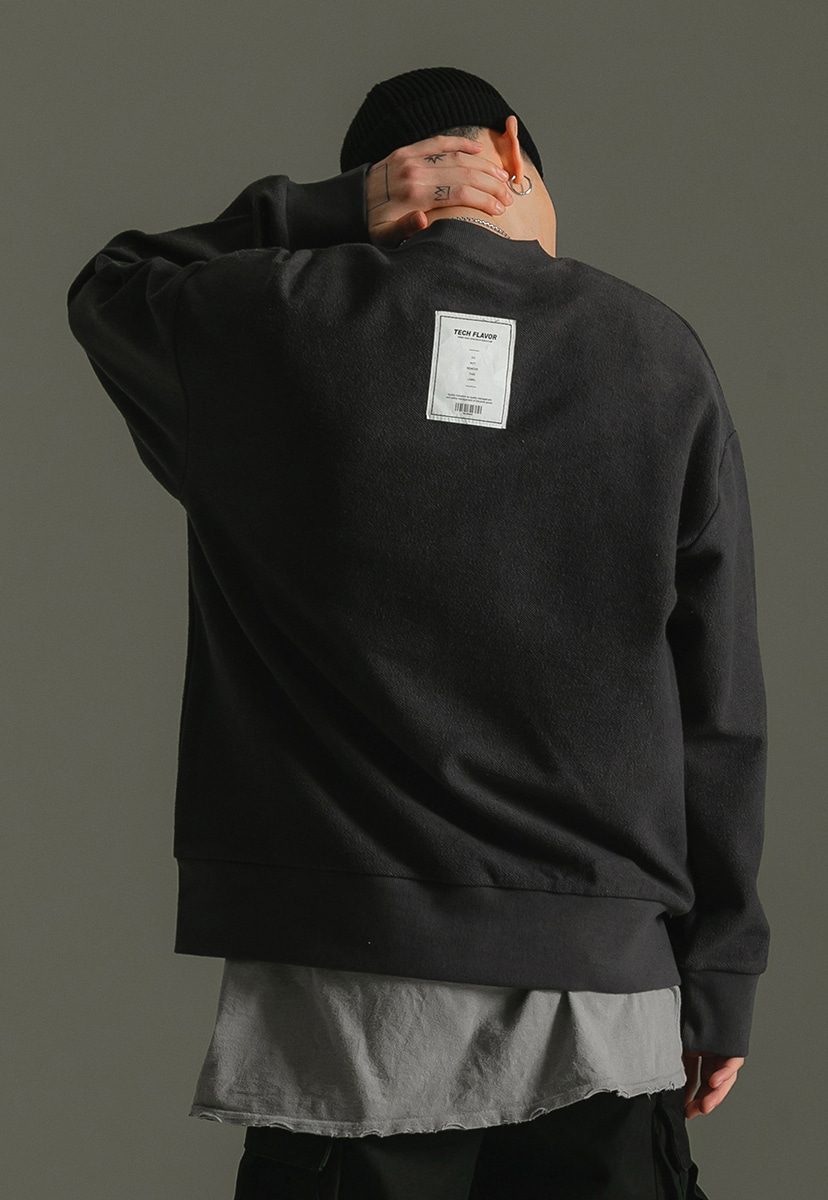 [크럼프] Techflavor reversible crewneck (TT0014-1)