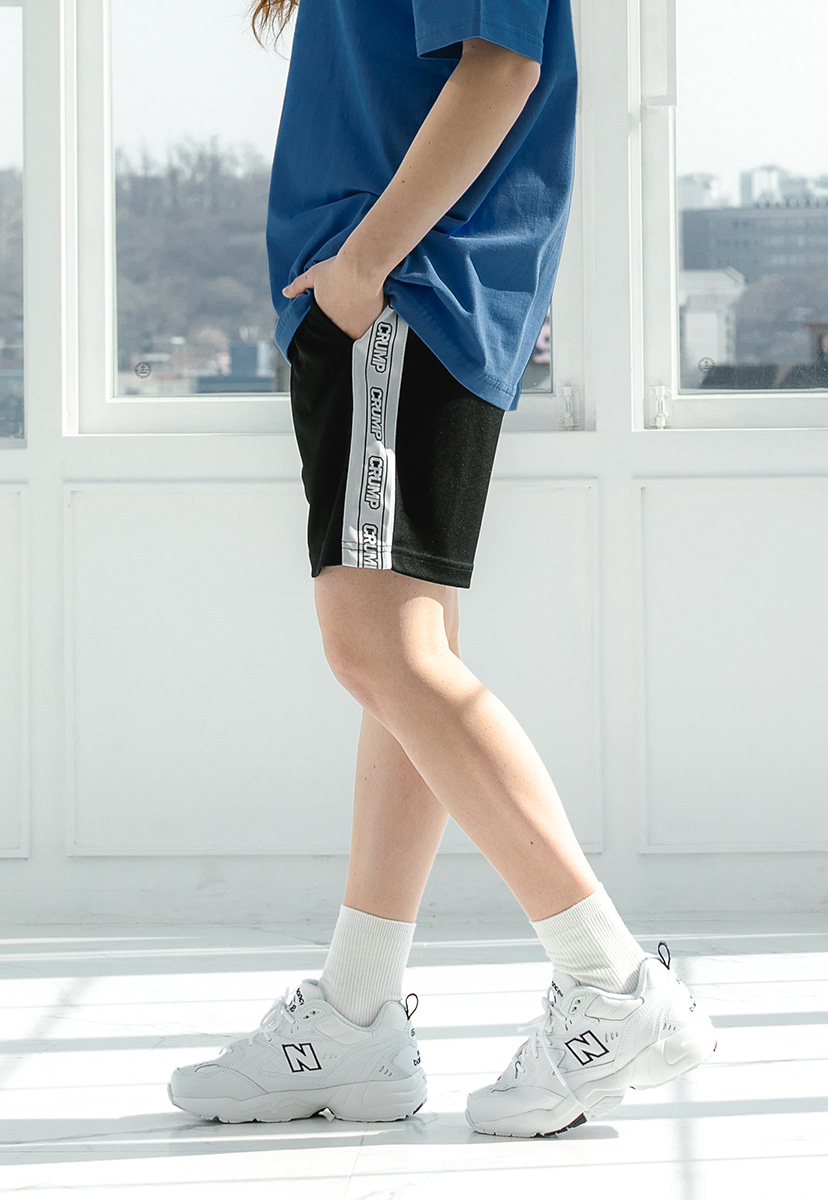 [크럼프] Crump side half pants (CP0082)