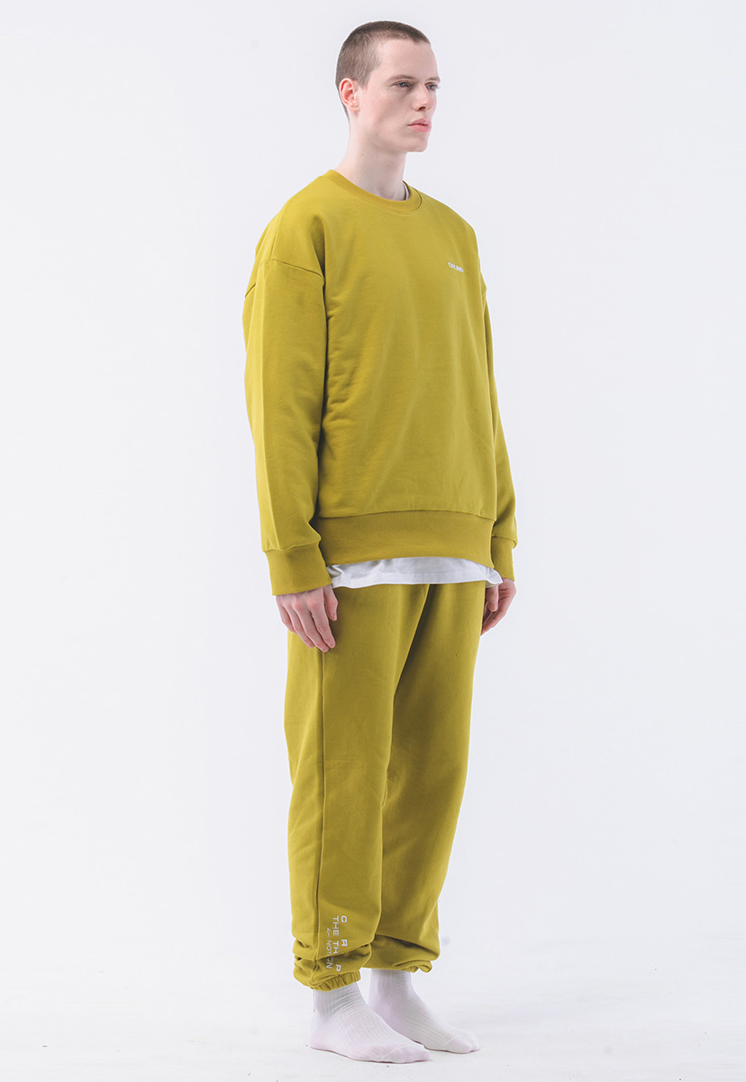 [크럼프] Crump terry sweat set  (CT0181-1)