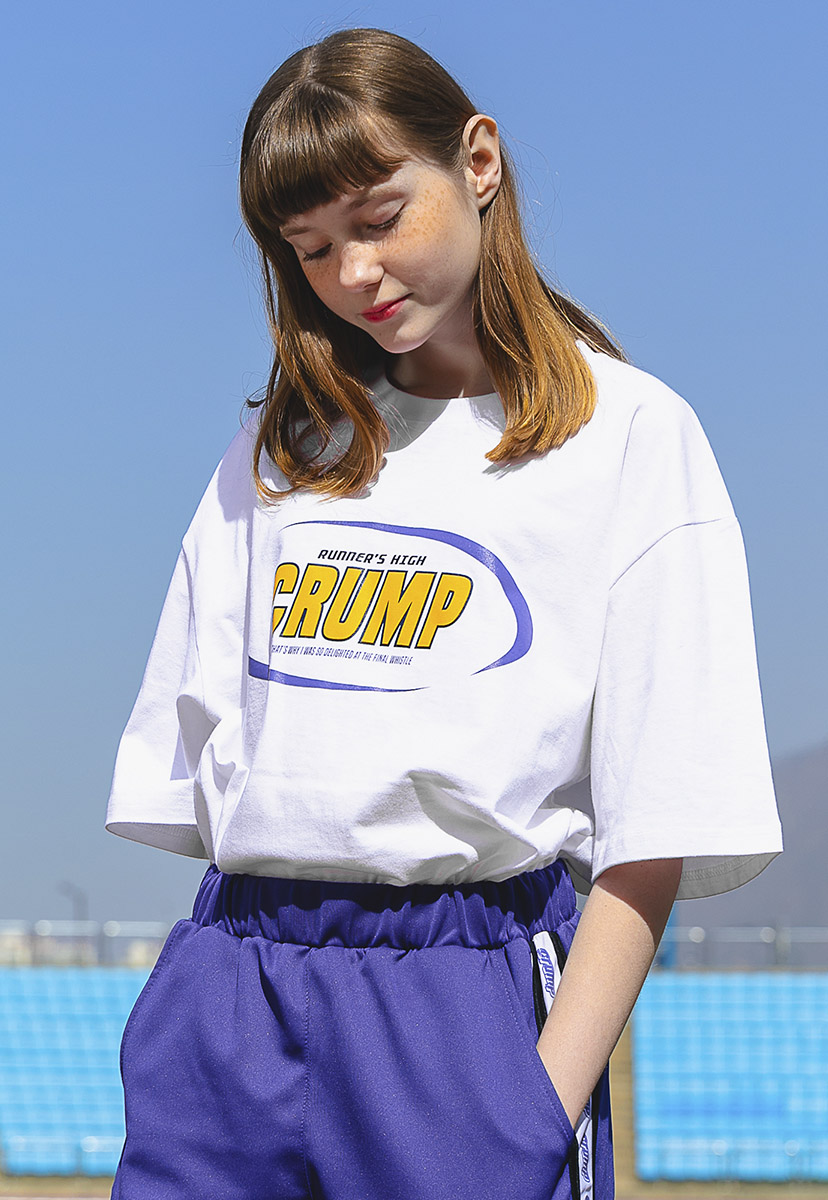 [크럼프] Crump crescent logo t-shirt (CT0198-1)