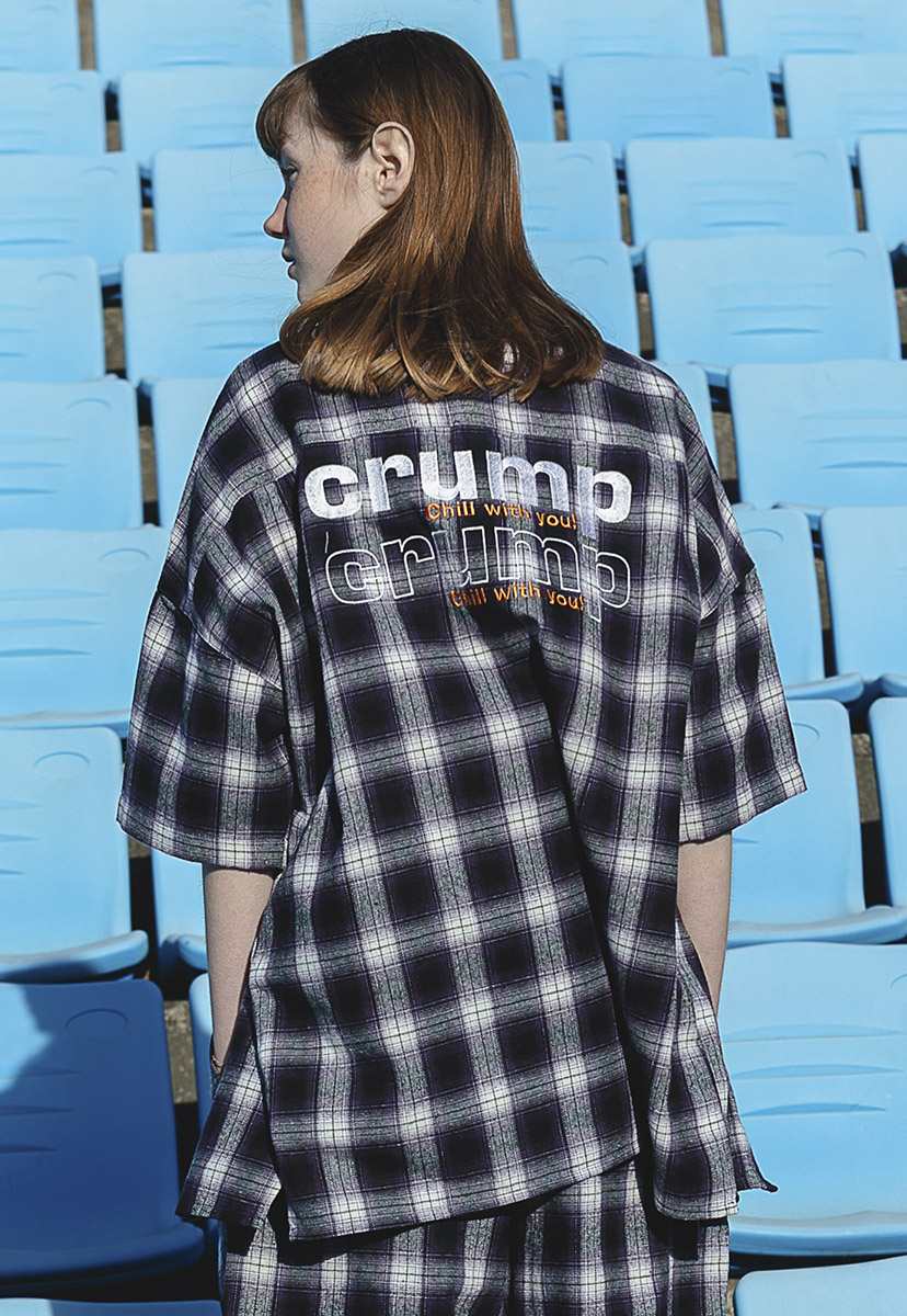 [크럼프] Crump plaid check shirt (CS0035-1)