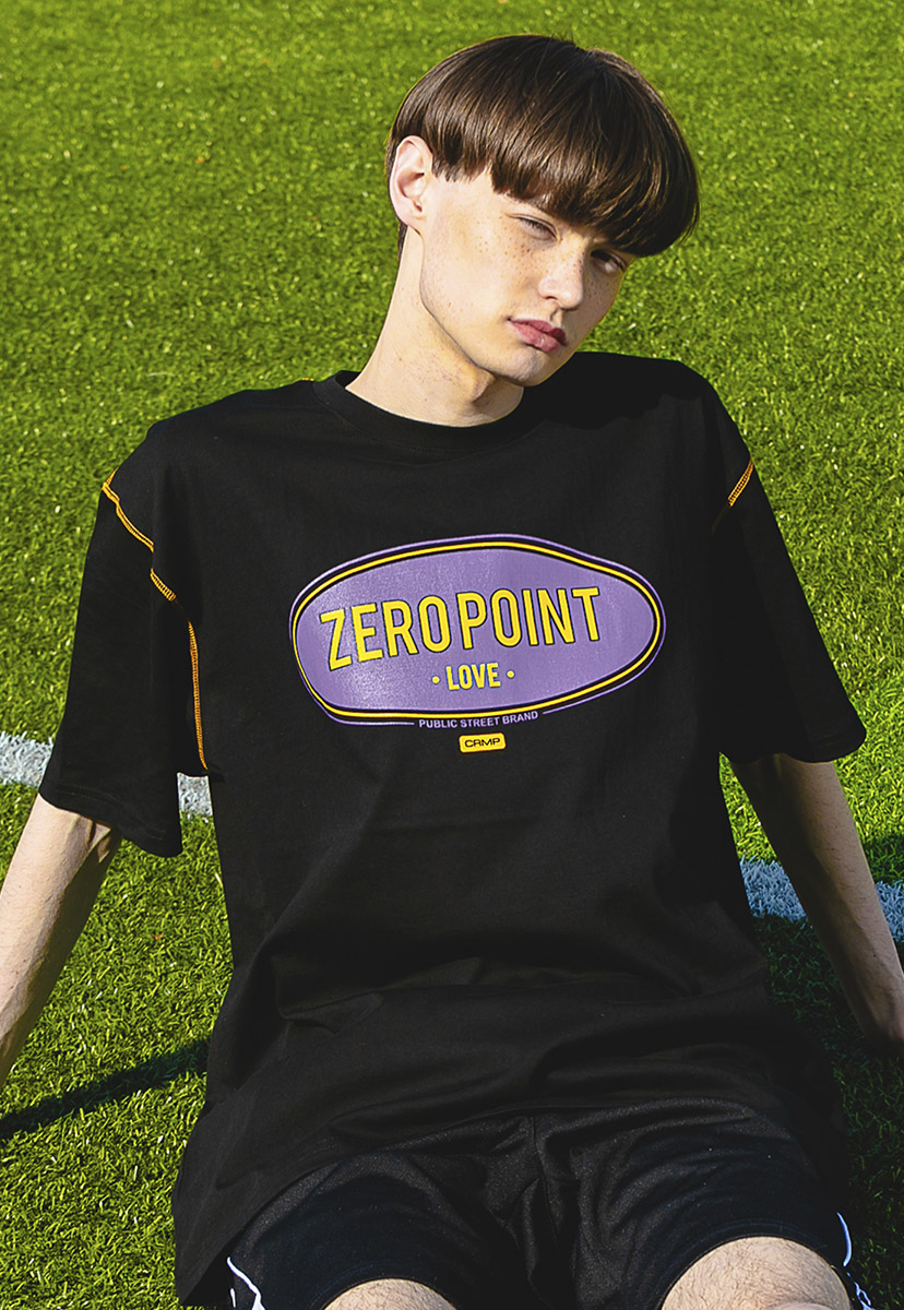 [크럼프] Crump zero point stitch t-shirt (CT0202)