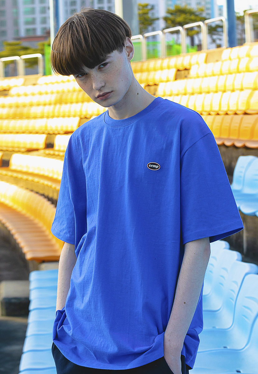 [크럼프] Crump color wappen t-shirt (CT0197-2)