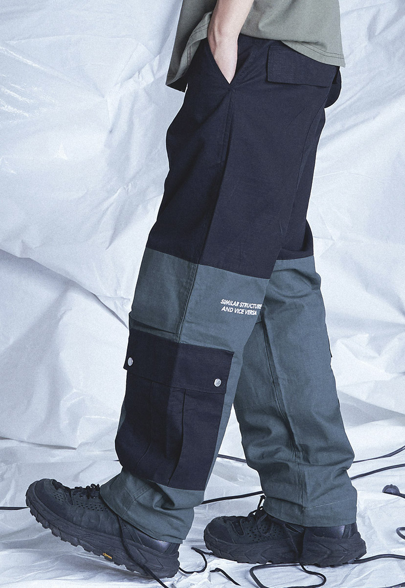 [6월21일 예약배송] [테크플레이버] Techflavor effects big cargo jogger pants (TP0021)