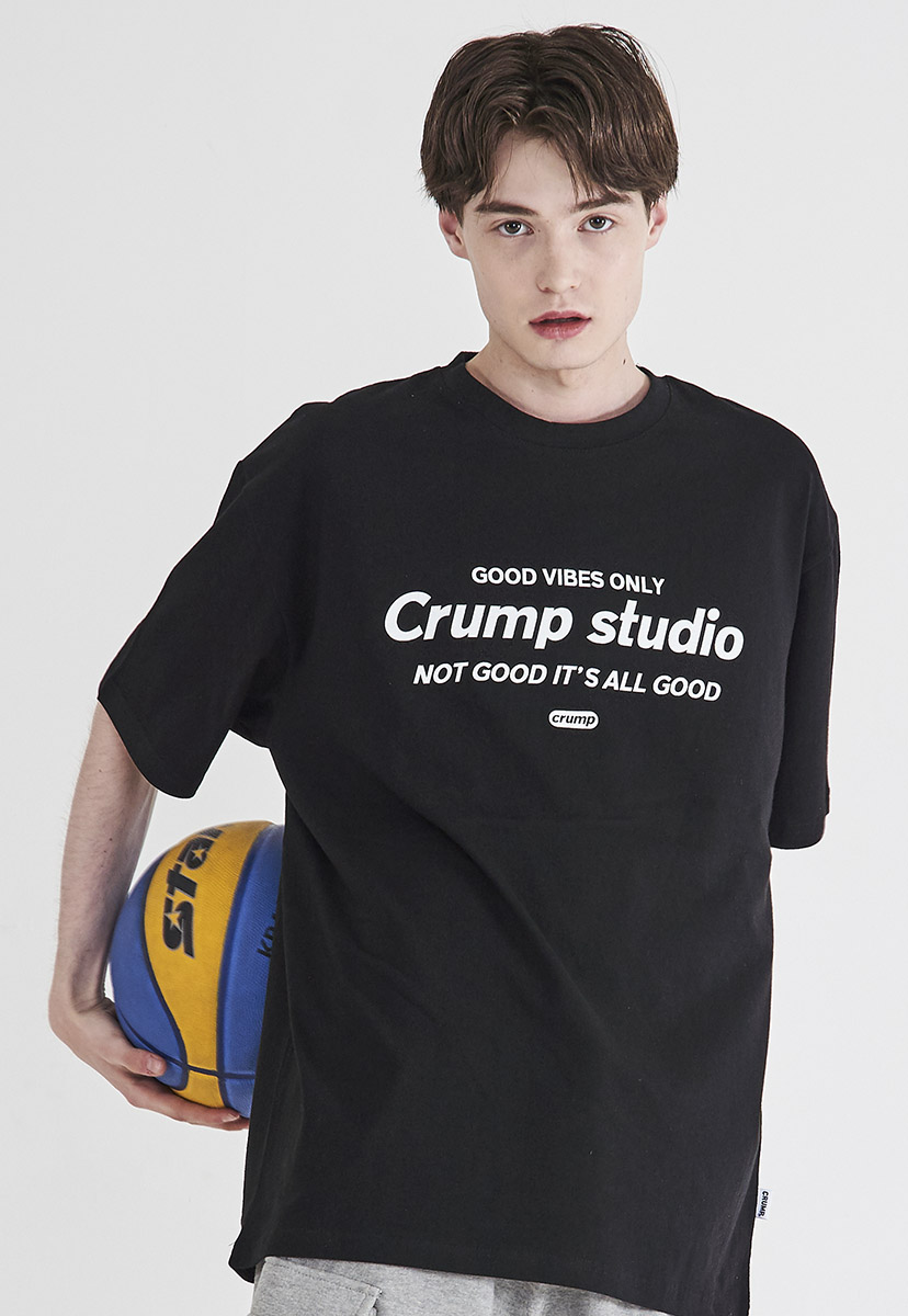 [크럼프] Crump studio logo t-shirt (CT0209)