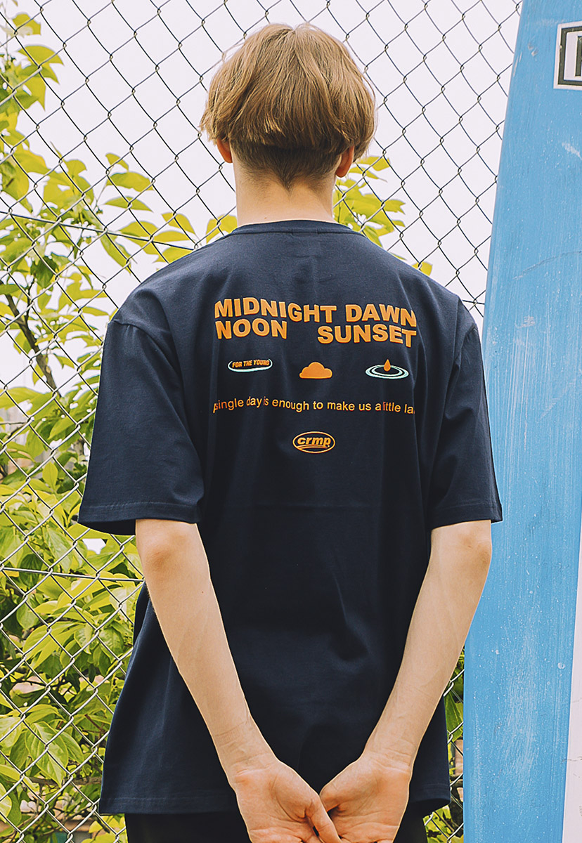 [크럼프] Crump midnight tee (CT0214-1)