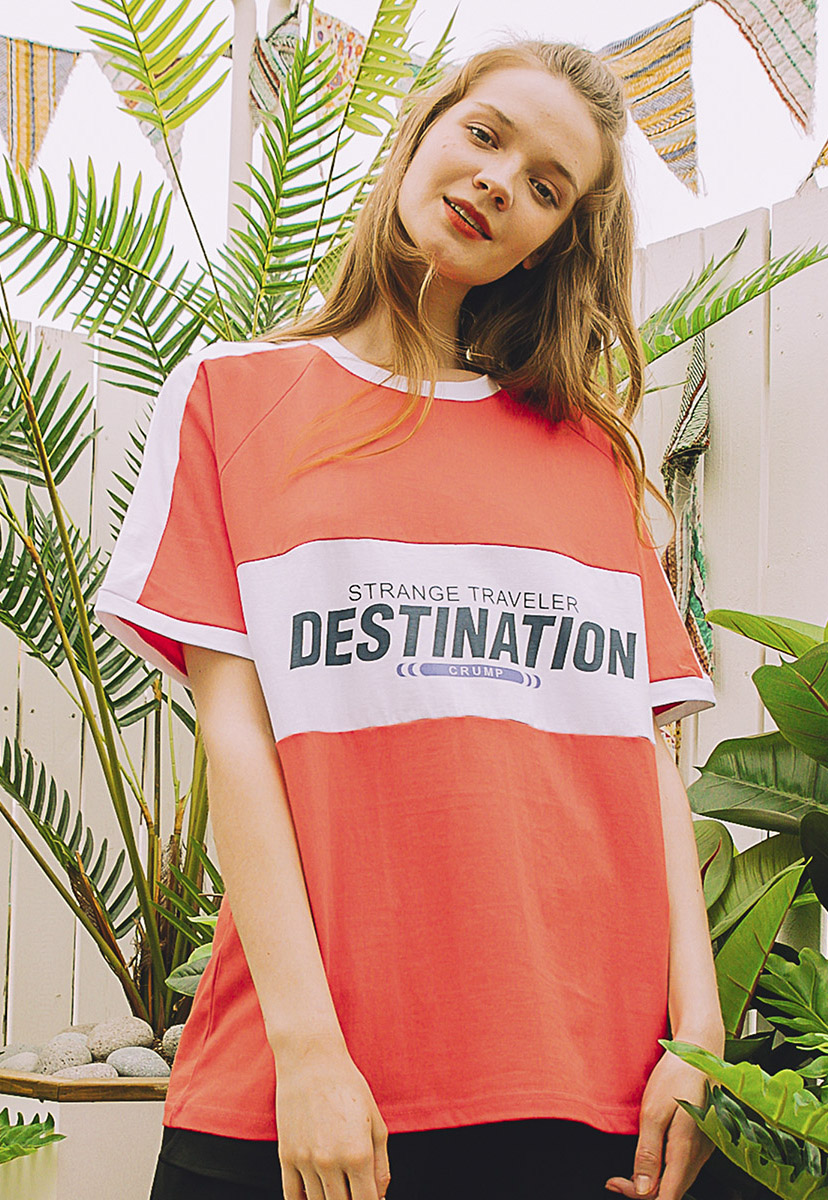 [크럼프] Crump destination tee (CT0215-1)