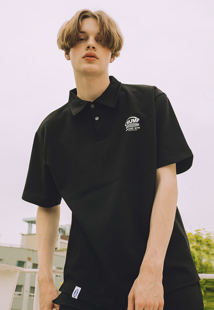 [크럼프] crump brand new logo pique shirts (CT0217)