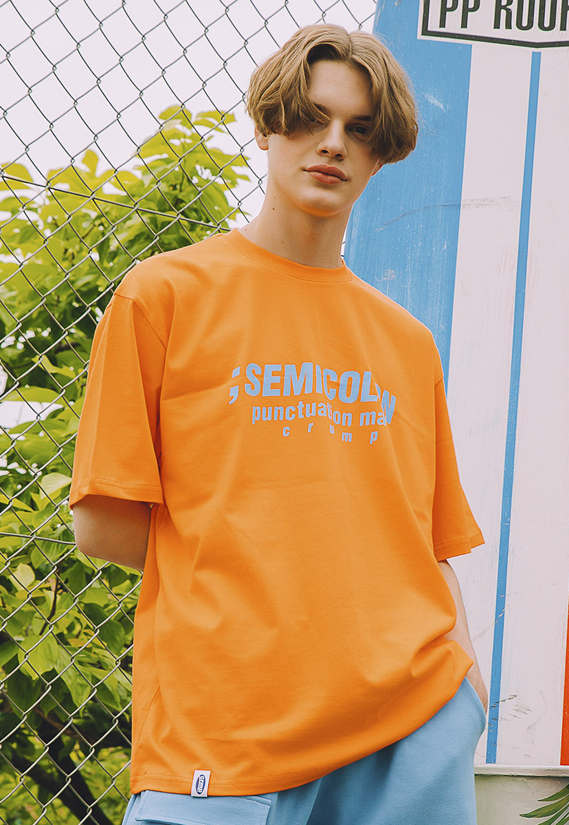 [크럼프] Crump semicolon tee (CT0216-2)